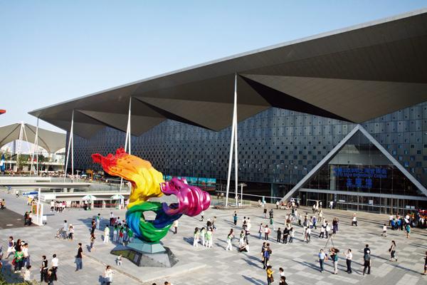 上海世博会主题馆