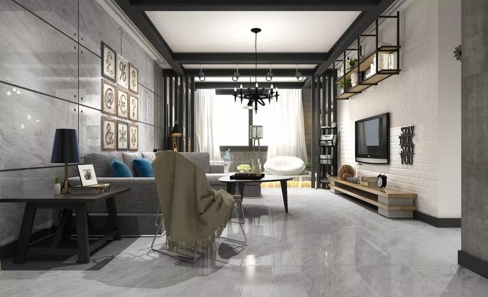 大室所趋——600*1200mm瓷砖魅力大放送!