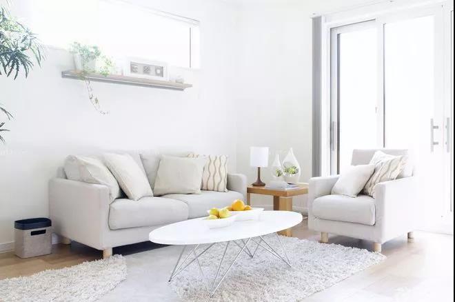 新品通体,惊艳的白色设计,打造纯净优雅的家!